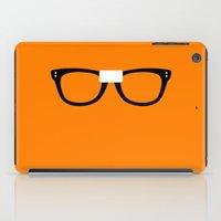 oitnb iPad Cases featuring Alex Vause Glasses OITNB by Maria Giorgi