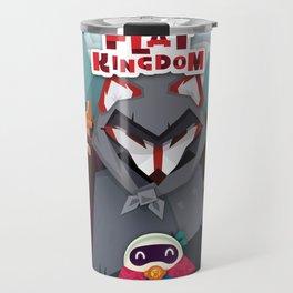 Flat Kingdom Travel Mug