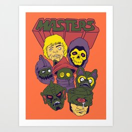 Masters of the Bootleg Universe Art Print