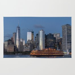 NYC Skyline & The Boat Rug