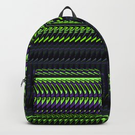 Apple Grape Rag Weave by Chris Sparks Backpack