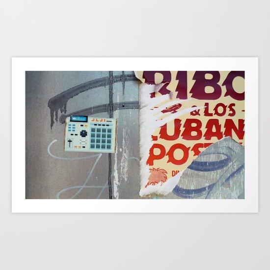 Ribot y los cubanos Art Print