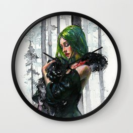 Black Swan Feelings Wall Clock