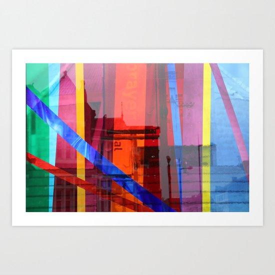 Distortion 3 Art Print