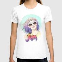 hologram T-shirts featuring J.E.M.✭✭✭✭✭ by Sara Eshak