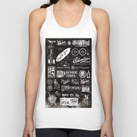 cycling Tank Tops featuring Re. Cycling by NOT MY TYPE