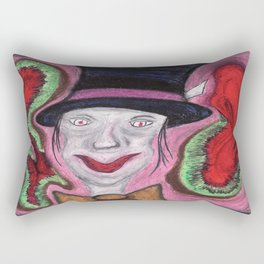 The Mad Hatter Rectangular Pillow
