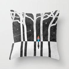 Stargazing Throw Pillow