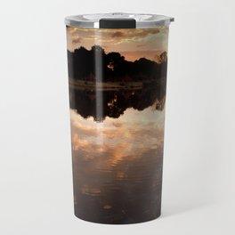 Lake of clouds Travel Mug