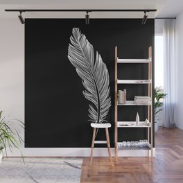 Invert Feather Wall Mural