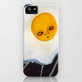 Egg Outsider Abstract Fantasy Art iPhone Case