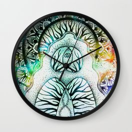 We Are One (light version) Wall Clock
