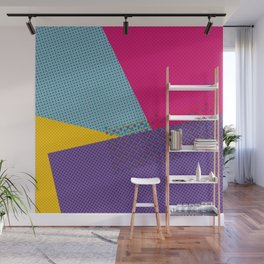 Colorblock - geometric minimal Wall Mural
