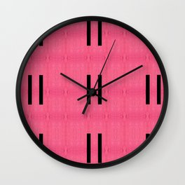 Luis Barragán Tribute 4 Wall Clock