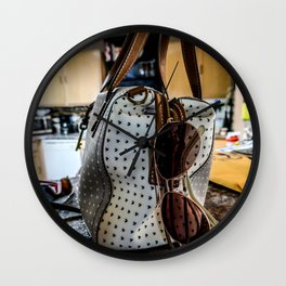 Going Out Wall Clock