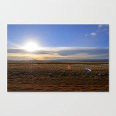 Wyoming Sunset 2 Canvas Print