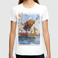viking T-shirts featuring Viking by Jose Luis Ocana