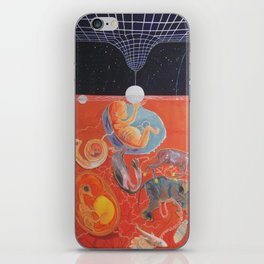 From gestation to the evolution of abstract thinking iPhone Skin