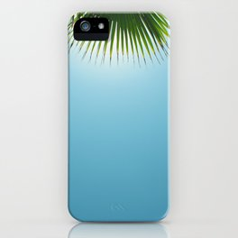 Green Relief iPhone Case