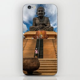 Huay Mongkol Temple iPhone Skin