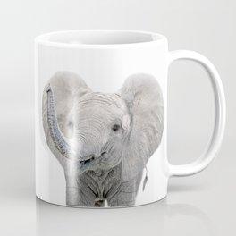 Elephant Calf Art Coffee Mug