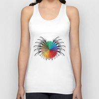 insect Tank Tops featuring İnsect by kartalpaf