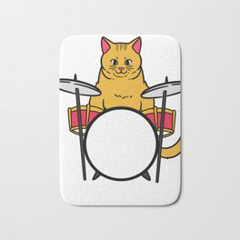 Drum Music Gift Instrument Drums Bath Mat