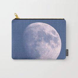 Watercolor Nightscape, Estes Park, Colorado, Waxing Gibbous Moon Carry-All Pouch