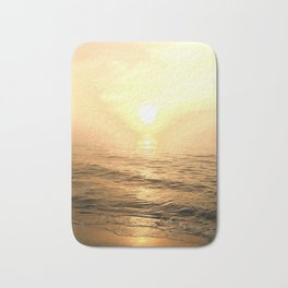 Gold Dawn Bath Mat