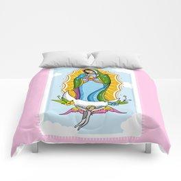 Virgen de Guadalupe Comforters