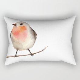 bird bullfinch Rectangular Pillow