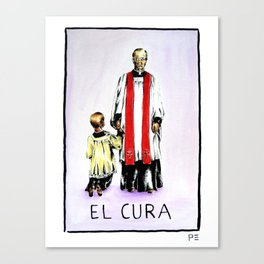El Cura Canvas Print