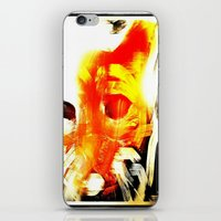 tom selleck iPhone & iPod Skins featuring Tom by Alexandro72