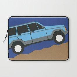 Blue SUV Laptop Sleeve