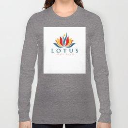 Lotus Warm Shirt Logo Long Sleeve T-shirt