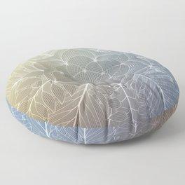 Awakening of nature | Visionary art Floor Pillow
