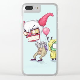 Invader It Clear iPhone Case