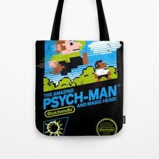 The Amazing Psych-Man and Magic Head! Tote Bag