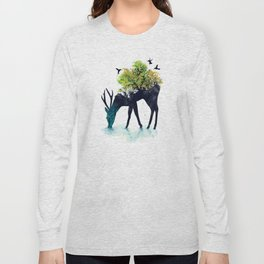 Watering (A Life Into Itself) Long Sleeve T-shirt