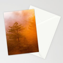 Golden Morning Glory Forest Stationery Cards