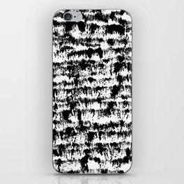 Black Pattern#2 iPhone Skin