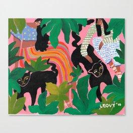 Wild friends Canvas Print