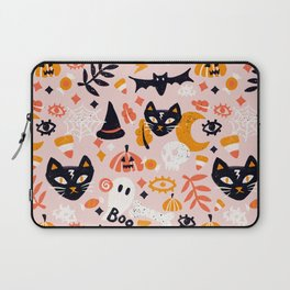 Trick Or Treat Yourself – Blush Laptop Sleeve