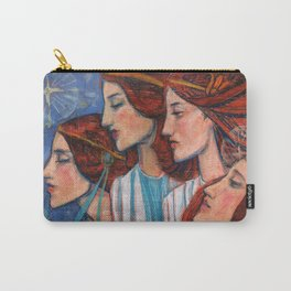 Tribute to Art Nouveau Carry-All Pouch