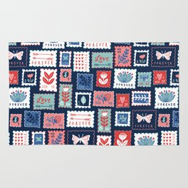 Stamps Rug