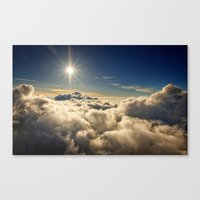 clouds Canvas Prints featuring clouds by 2sweet4words Designs