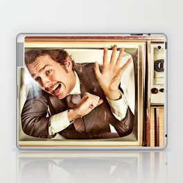 Man trapped in TV Laptop & iPad Skin
