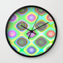 Crazy Candy's Abstract Wall Clock