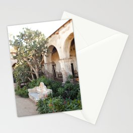 Moment at the Mission Stationery Cards