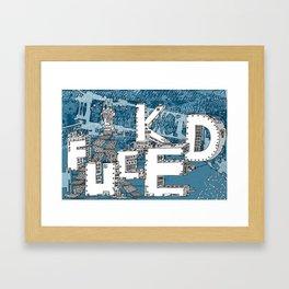 Intradestructure Framed Art Print